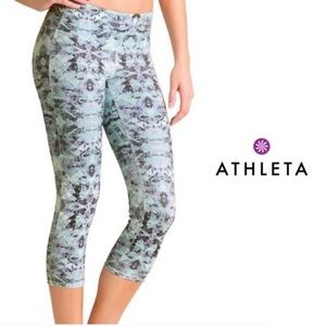 Athleta Cosmic Chaturanga Crop Leggings